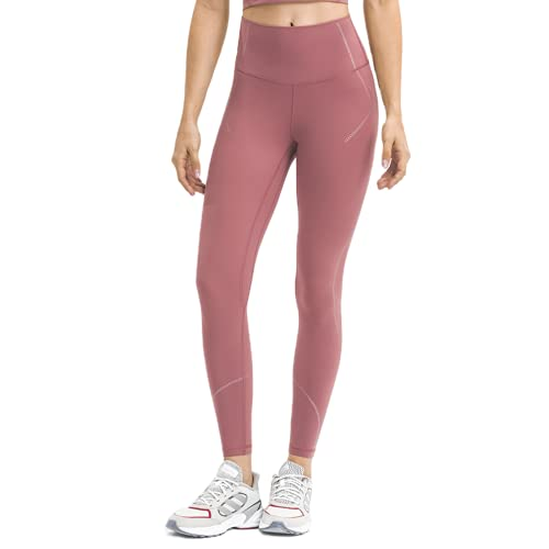 QTJY Pantalones de Yoga de Cintura Alta para Mujer Pantalones de Entrenamiento a Rayas Pantalones de Fitness Medias de Cadera Delgadas Flexiones Pantalones de Entrenamiento de Celulitis E M