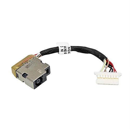 Gintai AC DC Power Jack arnés con Cable de Repuesto para HP Probook 430 G4 440 G4 450 G4 470 G4 853905-Y7A 853905-S7A CBL00760-0050