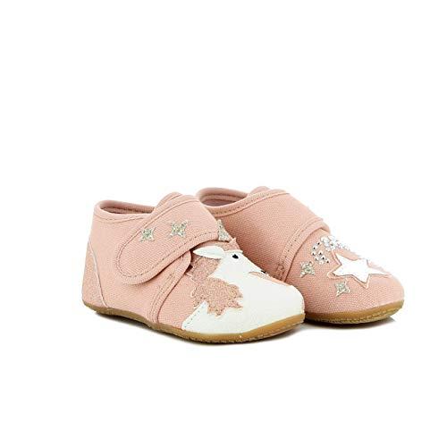 Living Kitzbühel Baby Mädchen Babyklett. Einhorn & Stern Lauflernschuhe, Pink (Rosewater), 20 EU