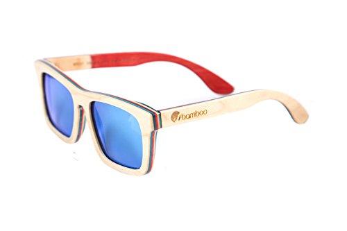 Gafas Bamboo - Gafas de sol HunterSkate de skate reciclado, polarizadas