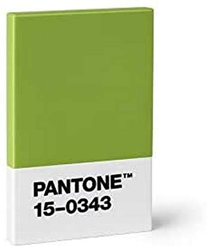 Pantone Design-Kartenetui Kredit- und Visitenkartenhalter, Green 15-0343 (Color of the Year 2017), grün