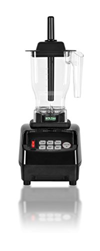OmniBlend V Commercial Blender for Smoothies Shakes Cocktails, Heavy Duty 3-Speed, Self-Cleaning, Includes Multi-functional 2-in-1 Wet Dry Blades, 1.5 Liter BPA-Free Shatter-Proof Jar (Black)