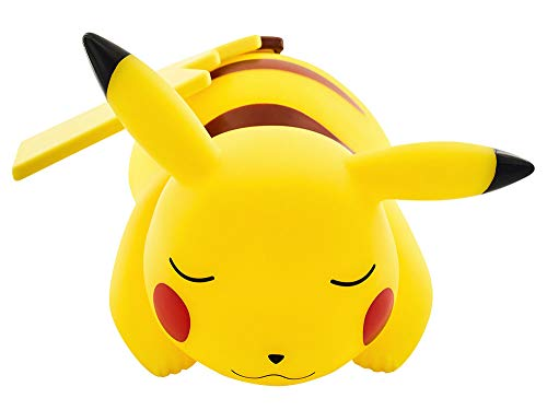 TEKNOFUN Pokemon Lámpara LED, diseño Pikachu Dormido (25 cm)