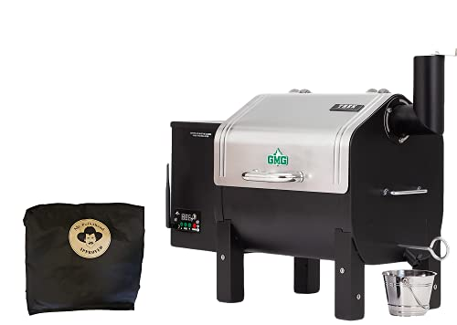 GMG 2020 Green Mountain Grill Davy Crockett Grill/Smoker with Cover