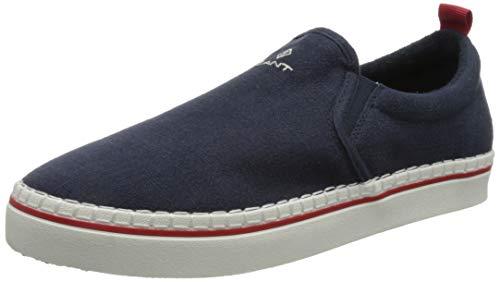 GANT Footwear Herren Frezno Espadrille Sneaker, Marine,43 EU