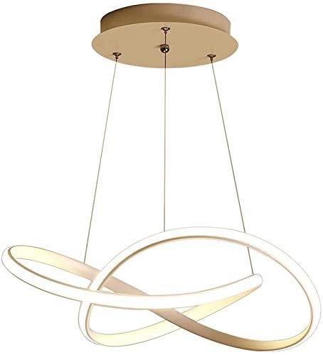 Vinteen Blanco 48W LED Dimensión de la luz Luz Colgante Colgante Luz Contemporáneo Forma de la Cinta de la araña para el Dormitorio Corredor de Comedor