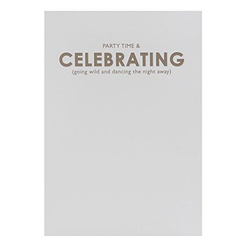 Hallmark verjaardagskaart voor dames, Engelse tekst