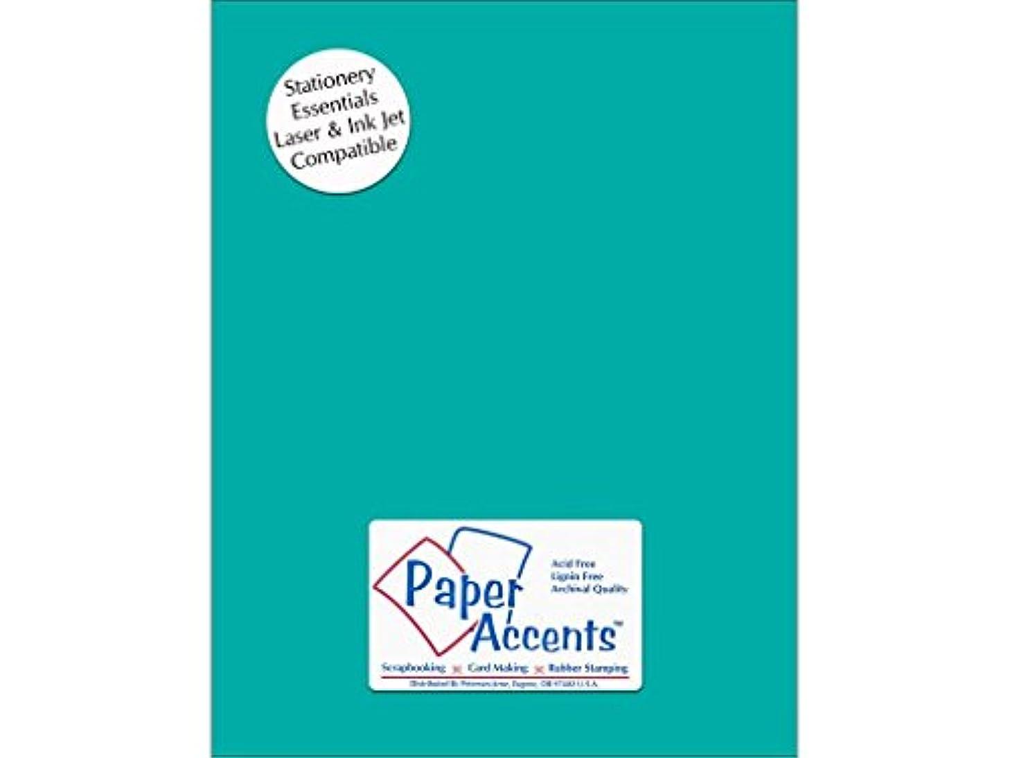 Accent Design Paper Accents 8.5x11 Lite Stock Sea Blue