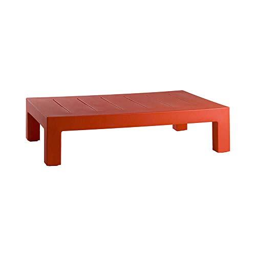 Vondom Jut Table Basse pour l'extérieur Rouge pour canapé