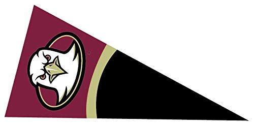 10 Inch BC Golden Eagle Logo Pennant Decal Flag Boston College Eagles Removable Wall Sticker Art NCAA Home Room Decor 10 by 5 Inches