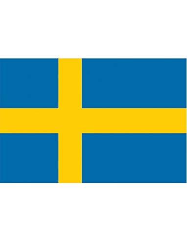 """TrendClub100® Fahne Flagge """"Schweden Sweden SE"""" - 150x90 cm / 90x150cm"""