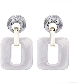 XISENHAN Acrylic Large Hollow Out Drop Earring Fashion Geometric Dangle Earrings Ladies Party Jewelry For Women