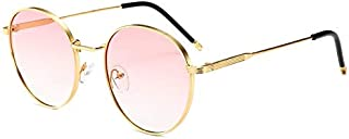 Sunglasses Fashion Accessories UV Modern Retro-Style Round Sunglasses Outdoor Dance Party (Color : Pink)