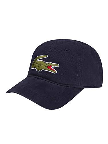 Lacoste Herren Rk8217 Baseball Cap, Blau (Marine), One Size (Herstellergröße: TU)
