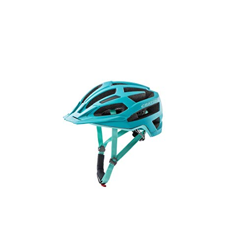 Cratoni Unisex– Erwachsene C-Flash (MTB) Fahrradhelm, Türkis, One Size