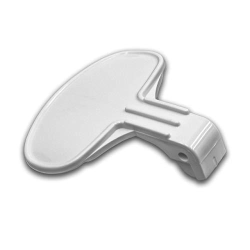 vhbw Tirador de puerta de repuesto compatible con Otsein OHFN7116-37, OHN6105-37, OHN685-37, OHNF9127, OHNL6106-37, OHNL6126-37, OHNL9106-37 lavadora