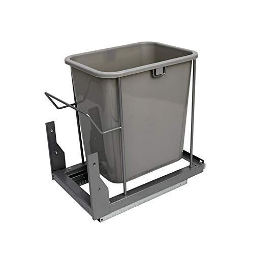 DFJKL vuilnisbak 12L inbouw in vuilnisbak keuken prullenbak vriendelijk onzichtbaar Bin voor Bar Rubbish Bins-in afvalbakken van huis & tuin