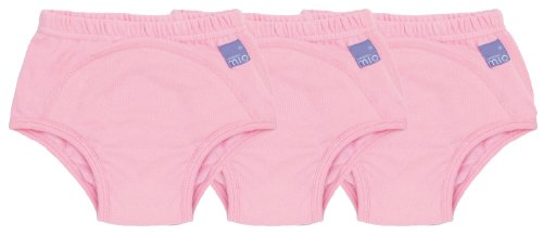 Bambino Mio, Potty Training Pants, Light Pink, 3+ Years, 3 Count