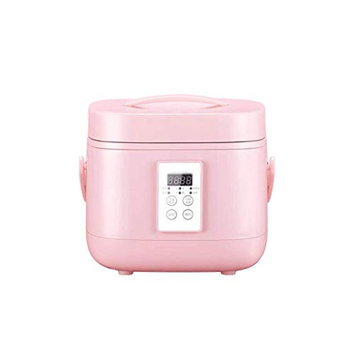 KSW_KKW Rice Cooker (3 litres / 490W) Accueil Intelligent Isolation Multi-Fonction intérieure Pot cuillère à Vapeur et Mesureur Peut accueillir jusqu'à 4 Personnes