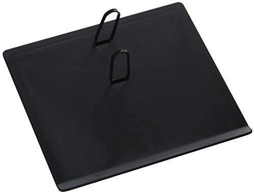 17 Style Calendar Base, Black, Plastic, 2-rings, (3.5