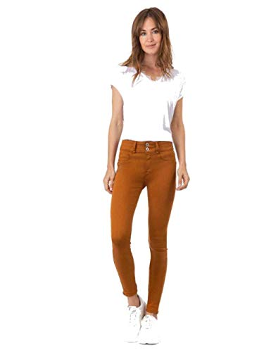 Tiffosi Jeans One Size Skinny Double Up 29 (Camel)