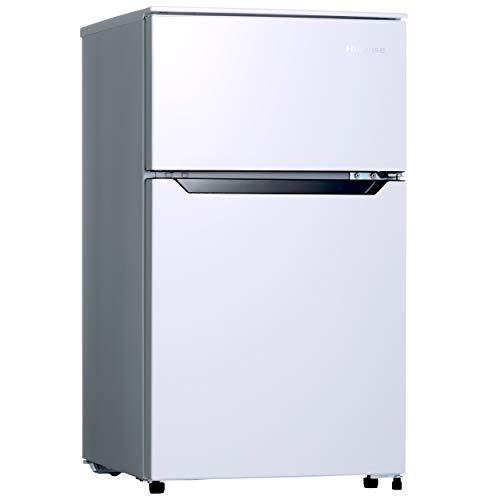 ハイセンス 冷凍冷蔵庫(幅48.1cm) 93L 2ドア 右開き HR-B95A 一人暮らし ホワイト
