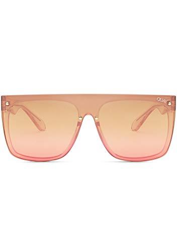 Quay Australia X Nabilla Jaded - Gafas de sol para mujer, color rosa y marrón