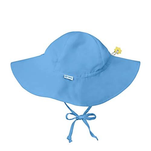 i play. Chapeau de protection solaire, Bleu Clair, 9-18 mois
