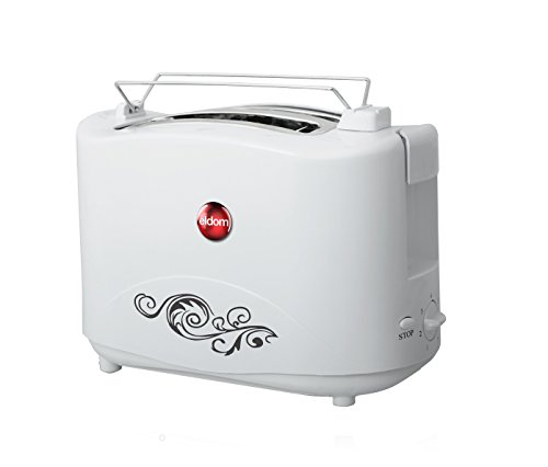Broodrooster ELDOM TO17, 750W, kleur wit