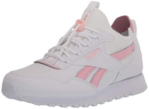 Reebok womens Reebok Classic Harman Sneaker, White/Classic Pink/True Grey, 7.5 US