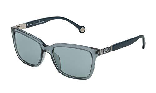 Carolina Herrera SHE692549ABG Gafas de sol, Azul, 54 para Mujer