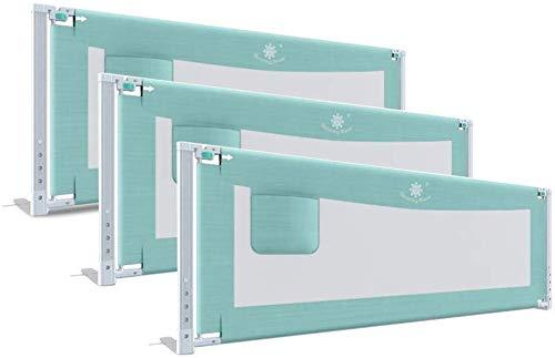 SILOLA Geländer für Sicherheitsbett Kinderbett Klappbett Erhältlich in blau oder pink (Größe: 180x200x200cm)