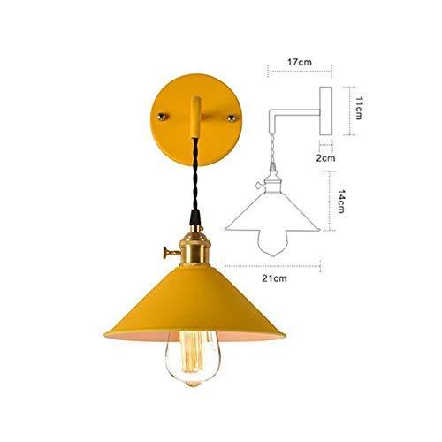 Wandlamp glazen spiegel wandverlichting met voorlicht industriële vintage lofts wandlampen café gordijnen verlichting slaapkamer woonkamer Ja