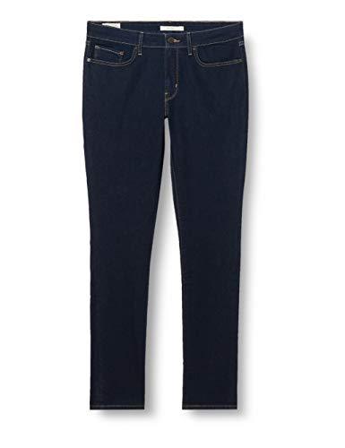 Levi's Damen 711 Skinny Jeans, Blau (Dark Indigo - Flat Finish), 31W / 32L