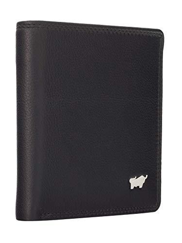BRAUN BÜFFEL Geldbörse Golf 2.0 aus echtem Leder - Carré - schwarz