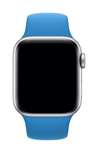 Apple Watch (44mm) Sportarmband, Surfblau - Regular