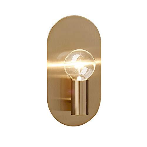 Eenvoudige creatieve metaalsoort woonkamer televisiewand slaapkamer bedlampje wandlamp