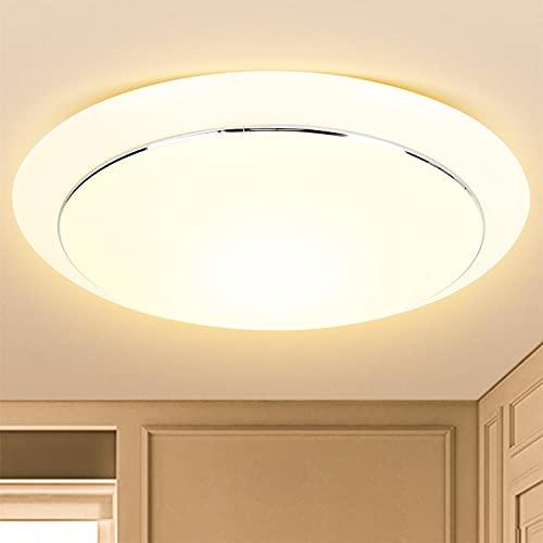 Aigostar Plafón LED de techo diamante 20W, 1400lm y luz cálida 3000K. lámpara de techo LED, perfecta para salas de estar, dormitorios, cocinas, balcones o pasillos