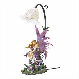 Orquídea decorativos de hadas lámpara de mesa decoración del hogar regalo de gran