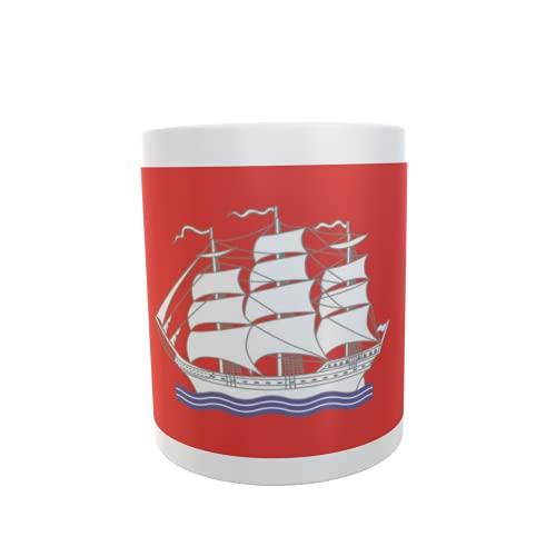 U24 Tasse Kaffeebecher Mug Cup Flagge Elmshorn