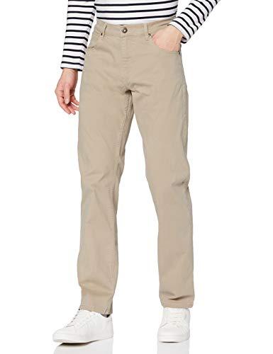 Wrangler Authentic Regular Jeans, Beige (Khaki 787), 34W / 34L Homme