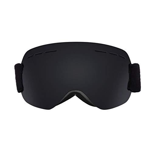 Lorenory Skibril, dubbele lagen, UV400, anti-condens, grote skibril, skiën, uniseks, sneeuw, snowboardbrillen