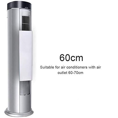 TIZJ Acondicionador de Aire Deflector for Ventilador de la Torre, Aire Acondicionado Deflector de Viento Que sopla Anti Directa con 60-70 cm Salidas