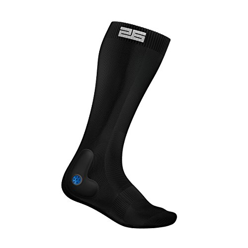 Stable 26 PTX Performance Ski Pro par de calcetines, Unisex adulto, color negro, tamaño large