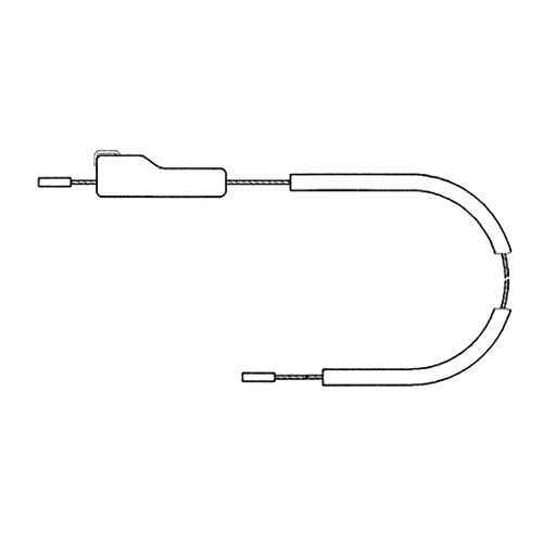 Universal-Nabenschaltzug für Sachs mit Fixierhülse und Innen-6kt.Schlüssel (1 Stück)