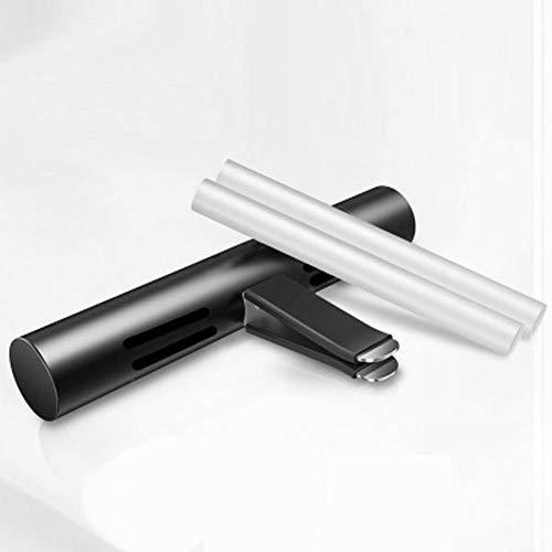 Delleu Ambientador de Aire del Coche, aromaterapia Aire purificador de Aire Coche respiradero Clip ambientadores 5 Fragancia perfumada Stick