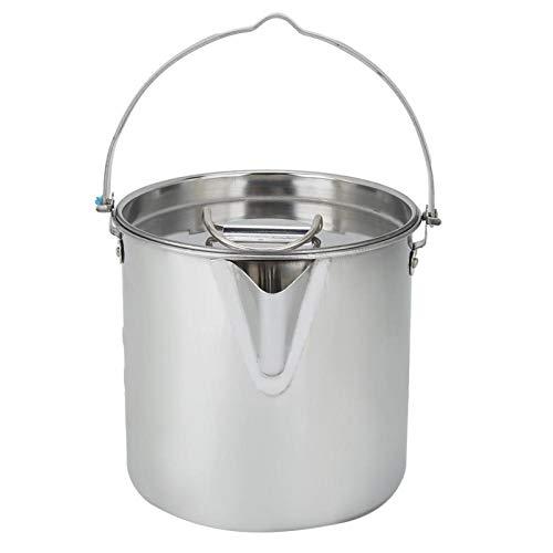 Hervidor de agua portátil de olla de agua para el hogar para acampar