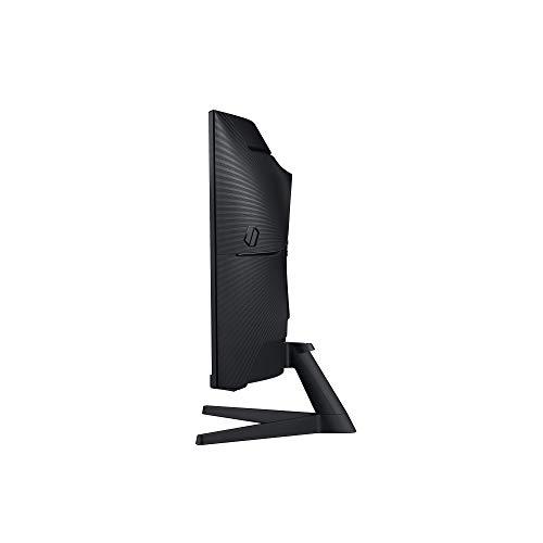 Samsung Odyssey C32G53T 32 Zoll 1000R Curved Gaming Monitor mit 2560x1440p Auflösung, 144hz Bildwiederholrate, 1ms Reaktionszeit - 2