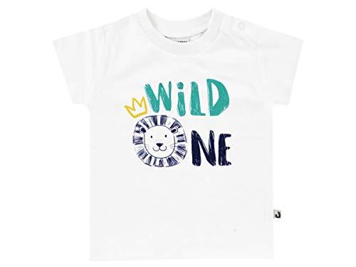 Jacky T-Shirt für Jungen, Größe: 50, Alter: 0-1 Monate, Lion The King, Weiß, 1219310