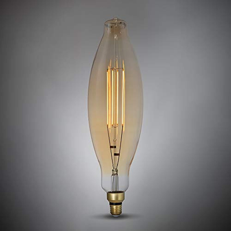LED-Leuchtmittel, 4 W, E27, Vintage-Stil, 3.5K, 1800 K, Sunset Weiß – gerades Glühfaden